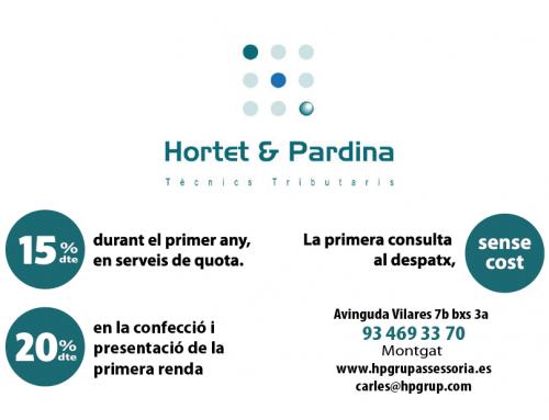 Hortet & Pardina, tributarios