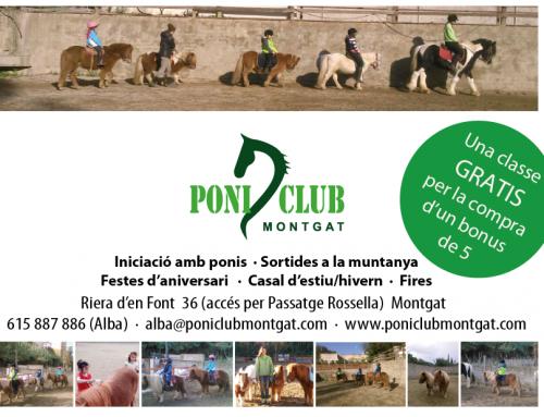 Poni Club Montgat