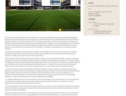 Premios Arquitectura – Hamelin-Laie