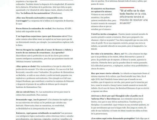 El Periódico – Profesor Marrasé